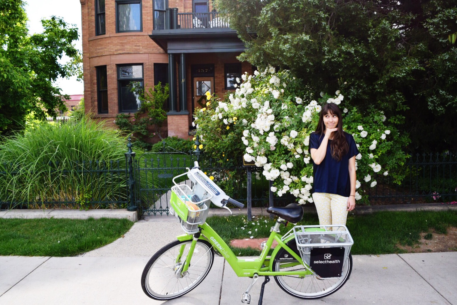 Little Dates #9: Green Bikes