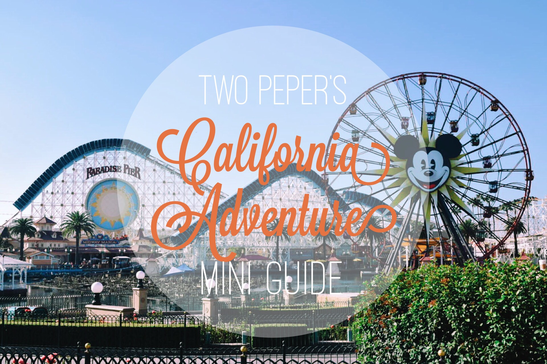 California Adventure Mini Guide